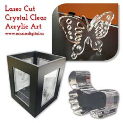 Laser Cut Acrylic by Sunrise Digital